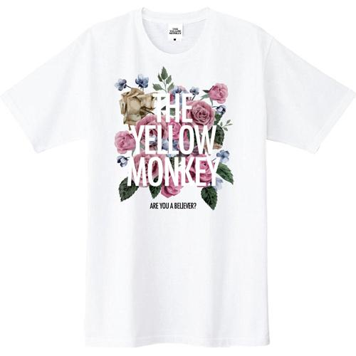 バラ色 Tシャツ(White)