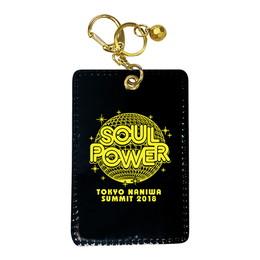"""""""SOUL POWER 2018""""パスケース(ブラック)"""