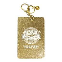 """SOUL POWER 2018""パスケース(ゴールド)"