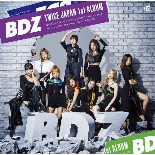 TWICE JAPAN 1st ALBUM「BDZ」《ONCE JAPAN限定盤》