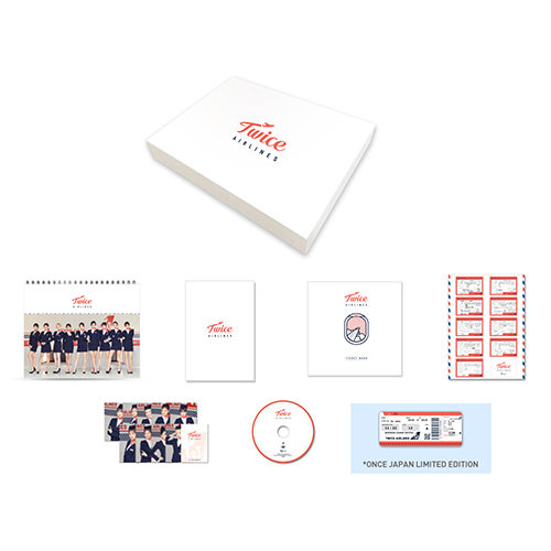 "TWICE JAPAN SEASON'S GREETINGS 2019 ""TWICE AIRLINES"" FULL PACKAGE -ONCE JAPAN LIMITED EDITION-"