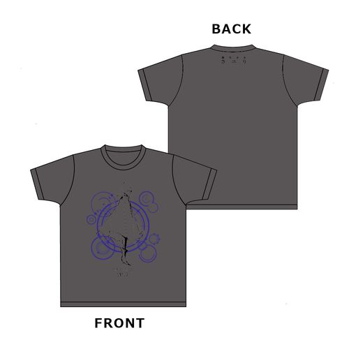 【さユり】Tシャツ(レイメイVer.)/グレー