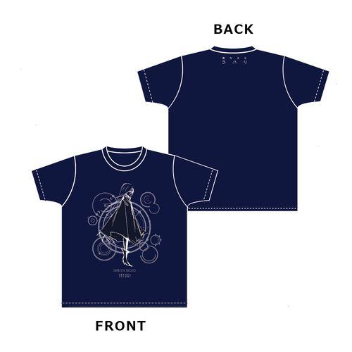 【さユり】Tシャツ(レイメイVer.)/紺