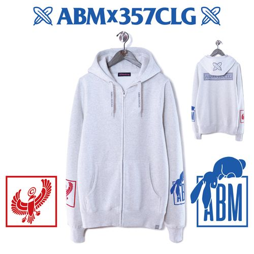 【阿部真央】阿部真央×357clothing Zip-up Hoodie
