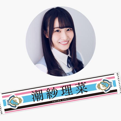 【通常配送】日向坂46 デビューシングル推しメンマフラータオル 潮紗理菜