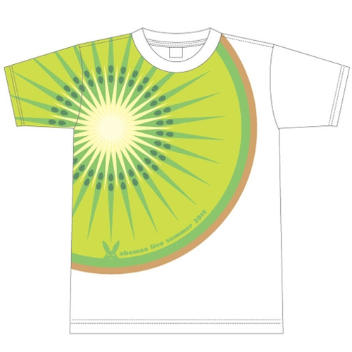 【阿部真央】あべまにあ限定 キウイTシャツ
