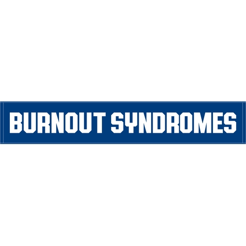 【BURNOUT SYNDROMES】2019 SUMMER LOGOタオル