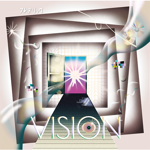 【フレハウス会員限定】2nd EP「VISION」初回限定盤(CD+DVD)