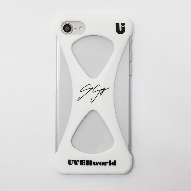【誠果 Produce】UVERworld × Palmo (BLACK for iPhone 8/7/6s/6)  - UNSER TOUR