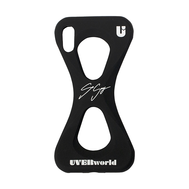 【誠果 Produce】UVERworld × Palmo (BLACK for iPhone X/XS) - UNSER TOUR