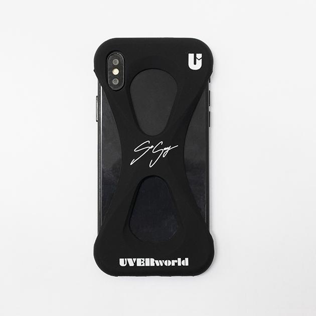 【誠果 Produce】UVERworld × Palmo (BLACK for iPhone X/XS) - UNSER TOUR