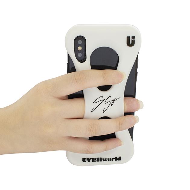 【誠果 Produce】UVERworld × Palmo (WHITE for iPhone X/XS) - UNSER TOUR