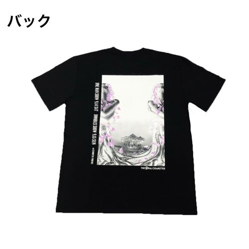 PD × SIVA(MUZE) グラフィックTシャツ/ブラック