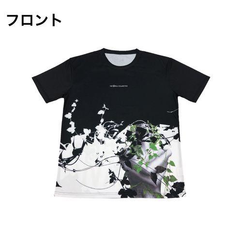 PDネオン メッシュTシャツ/ブラック