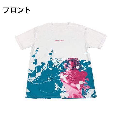 PDネオン メッシュTシャツ/ホワイト