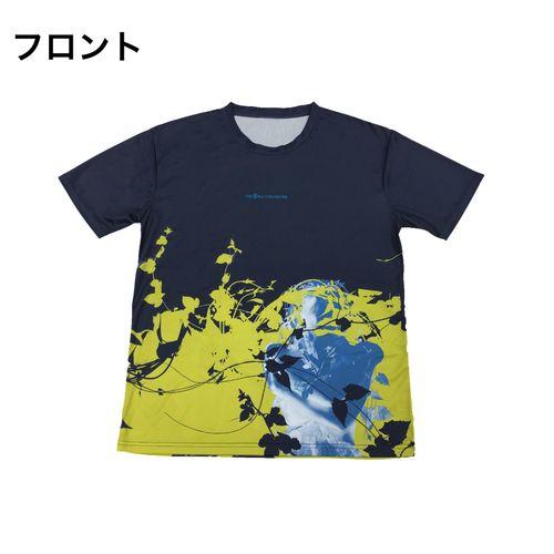 PDネオン メッシュTシャツ/ネイビー