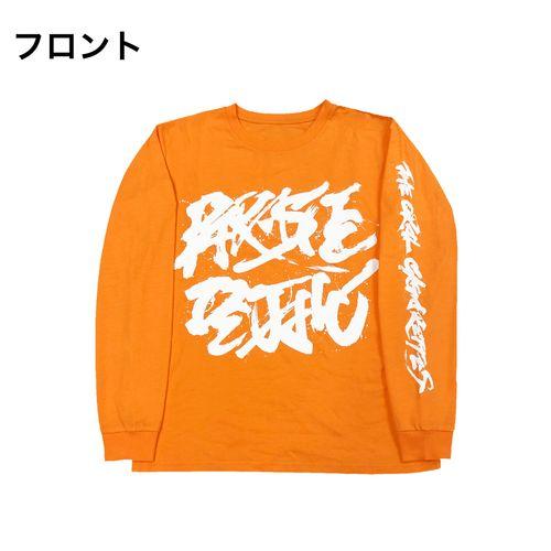 PD × 万美 ロンT/オレンジ