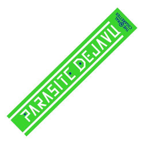 PARASITE DEJAVU OFFICIAL マフラータオル/グリーン