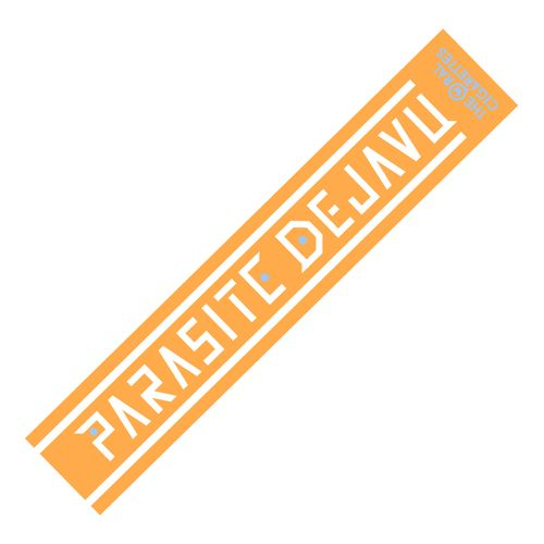 PARASITE DEJAVU OFFICIAL マフラータオル/オレンジ