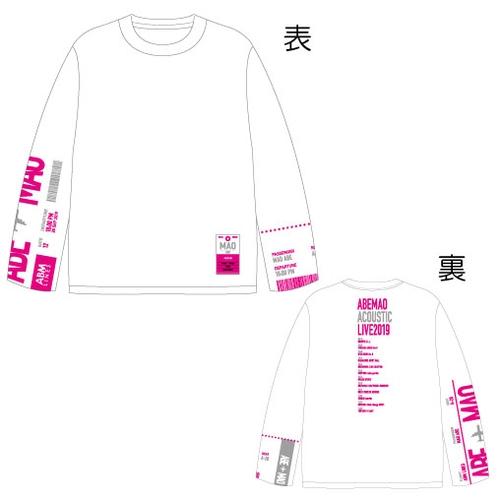 【阿部真央】ロングスリーブTシャツ