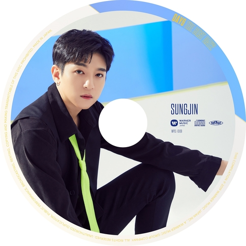 【DAY6】「THE BEST DAY2」(ピクチャーレーベル盤 SUNGJIN ver.)