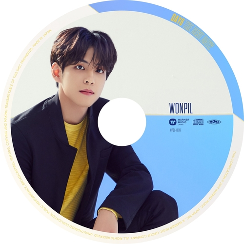 【DAY6】「THE BEST DAY2」(ピクチャーレーベル盤 WONPIL ver.)