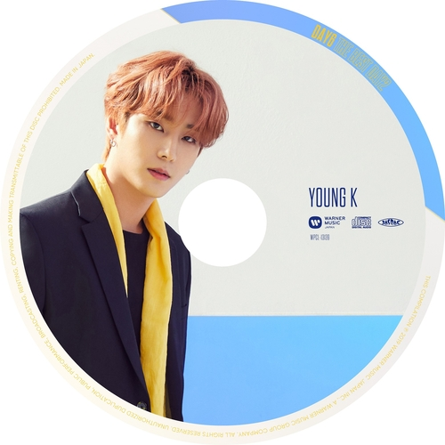 【DAY6】「THE BEST DAY2」(ピクチャーレーベル盤 YOUNG K ver.)