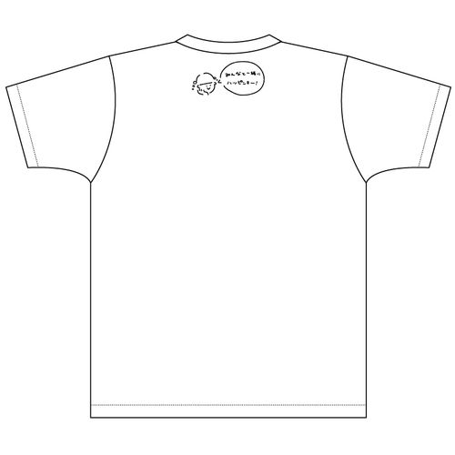【藤咲彩音生誕祭2019】 イラストTシャツ