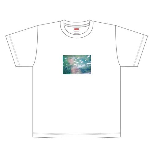 【吉澤嘉代子】かよこティーシャツ/白