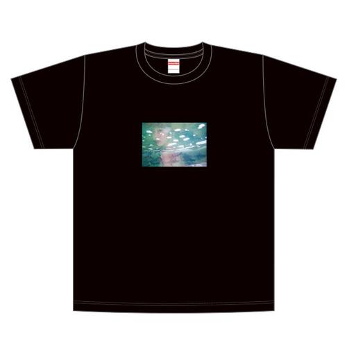 【吉澤嘉代子】かよこティーシャツ/黒