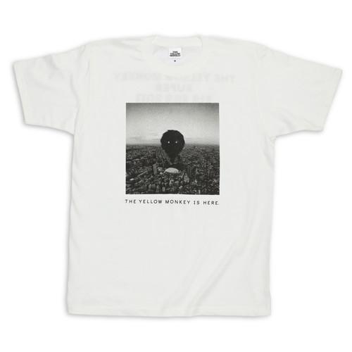 BIG EGG フォト Tシャツ/ホワイト
