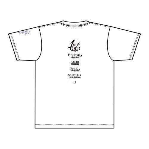 【通常配送】1st TOUR 2021 ロゴTシャツ/ホワイト