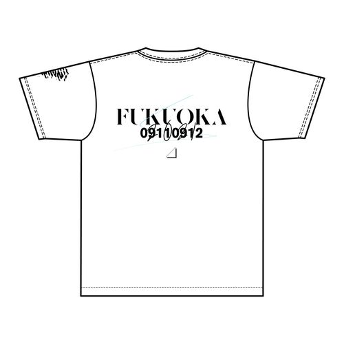 【通常配送】1st TOUR 2021 ご当地Tシャツ/福岡ver.
