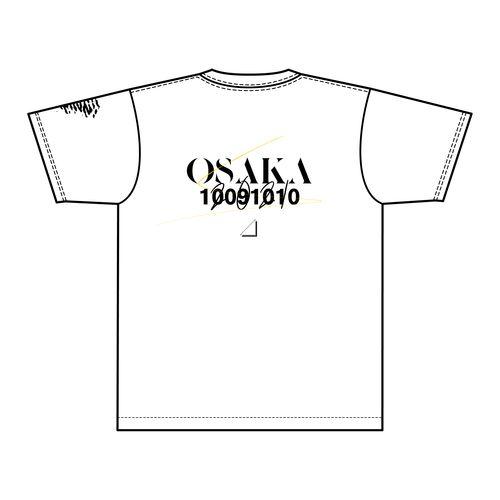 【通常配送】1st TOUR 2021 ご当地Tシャツ/大阪ver.