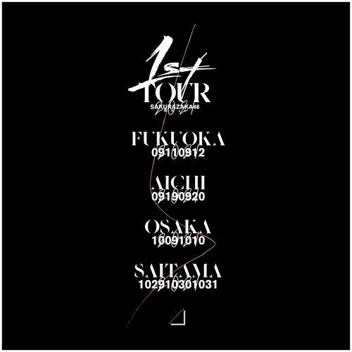 【通常配送】1st TOUR 2021 ロングスリーブTシャツ/ブラック