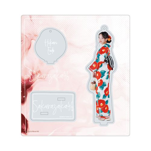【通常配送】アクリルスタンドキーホルダー【2021年浴衣衣装】遠藤 光莉