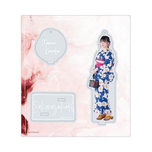 【通常配送】アクリルスタンドキーホルダー【2021年浴衣衣装】幸阪 茉里乃