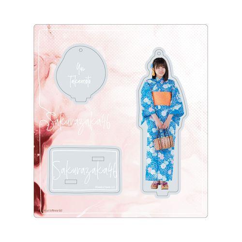 【通常配送】アクリルスタンドキーホルダー【2021年浴衣衣装】武元 唯衣