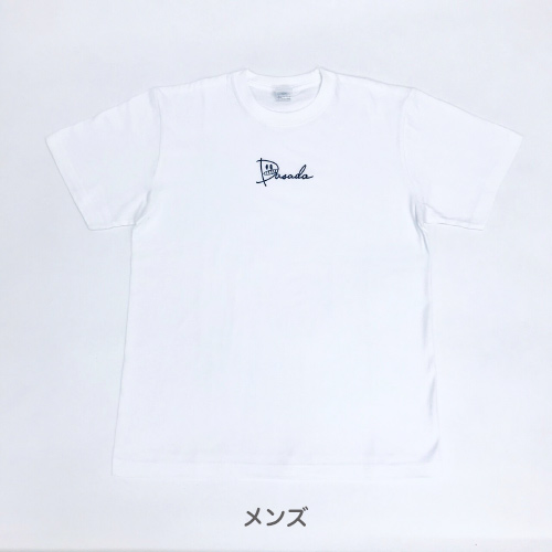 【通常配送】DASADA ロゴTシャツ 黒/白