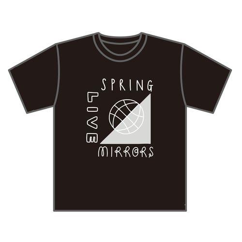 【武藤彩未】【先行販売】Spring Live -MIRRORS- Tシャツ/BLACK