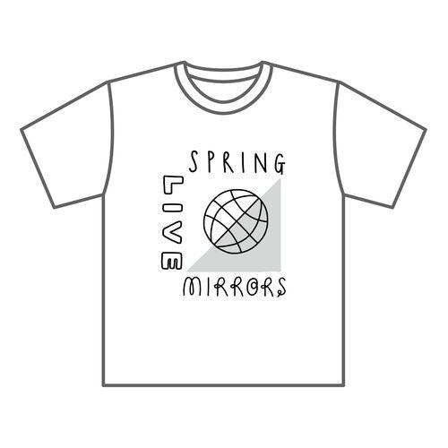 【武藤彩未】【先行販売】Spring Live -MIRRORS- Tシャツ WHITE