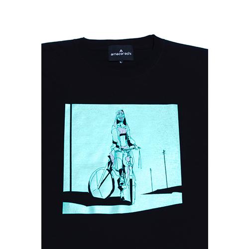 amazarashi Tour 2020 Long Sleeve T-shirt Light Blue