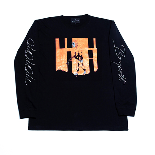 amazarashi Tour 2020 Long Sleeve T-shirt Orange
