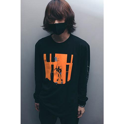 amazarashi Tour 2020 Long Sleeve T-shirt Orange