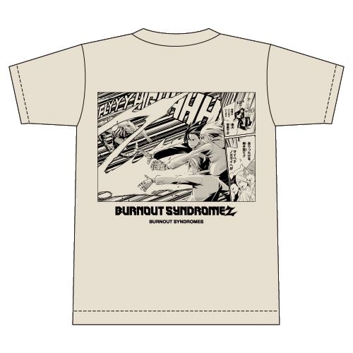 【BURNOUT SYNDROMES】BURNOUT SYNDROMEZ Tシャツ/ベージュ