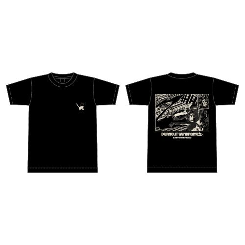 【BURNOUT SYNDROMES】BURNOUT SYNDROMEZ Tシャツ/ブラック