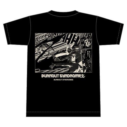 【BURNOUT SYNDROMES】BURNOUT SYNDROMEZ Tシャツ/ブラック
