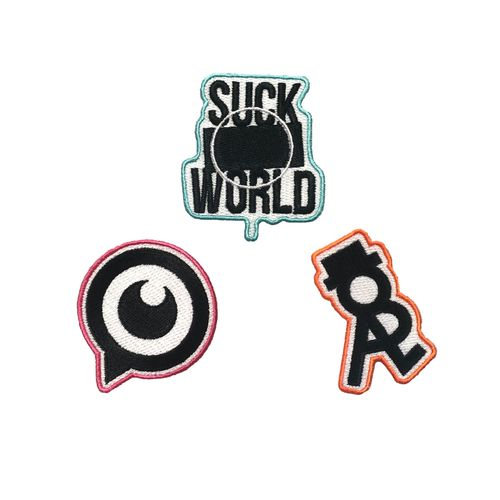 SMW刺繍ステッカーセット