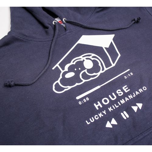 【Lucky Kilimanjaro】犬パーカー(HOUSE)