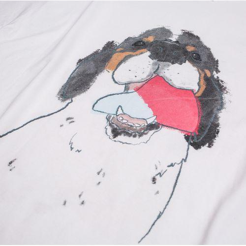 【Lucky Kilimanjaro】ロゴかじりTシャツ